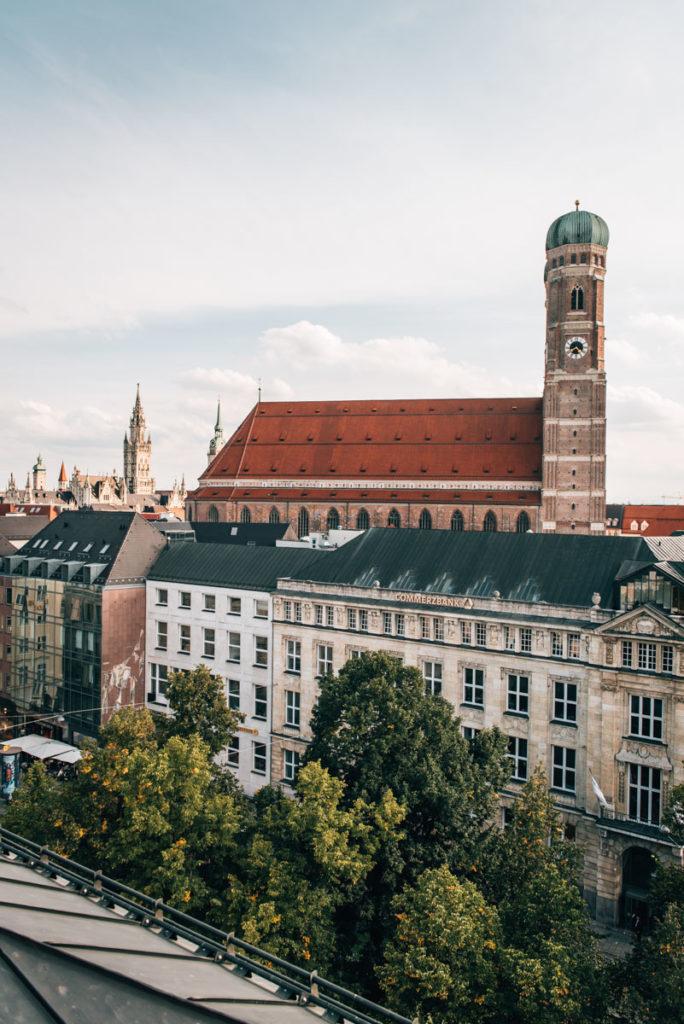 Bayerischer Hof München Ausblick