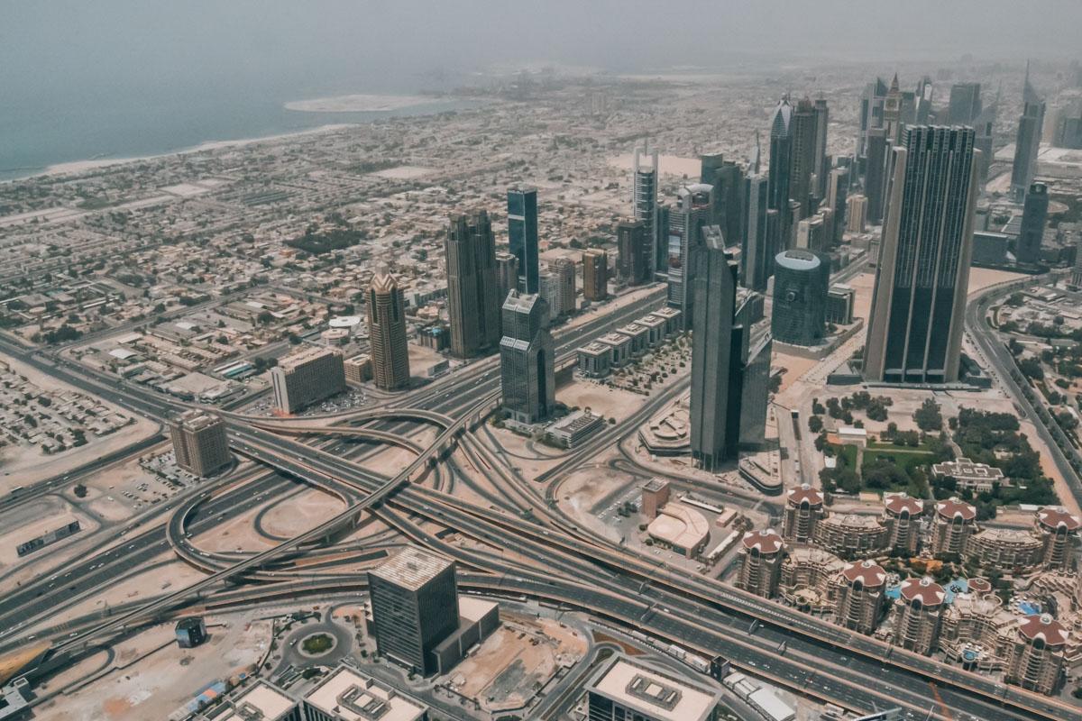 Burj Khalifa Ausblick