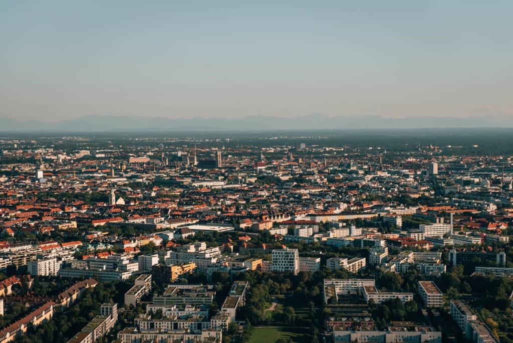 Olympiaturm München Aussicht
