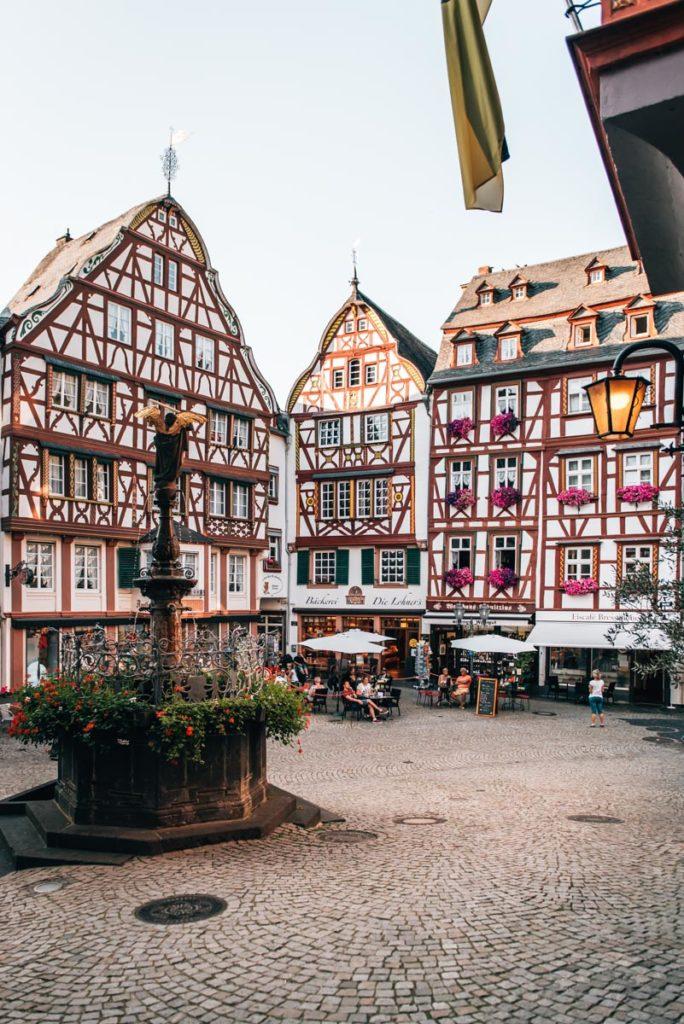 Bernkastel Kues Marktplatz