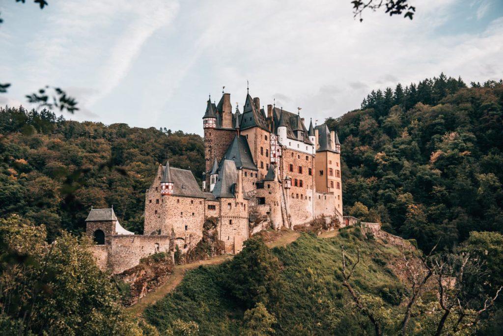Burg Eltz Sonnenuntergang