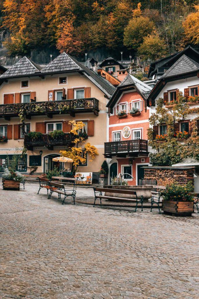 Hallstatt Marktplatz