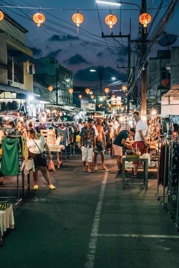 Koh Phangan Nachtmarkt