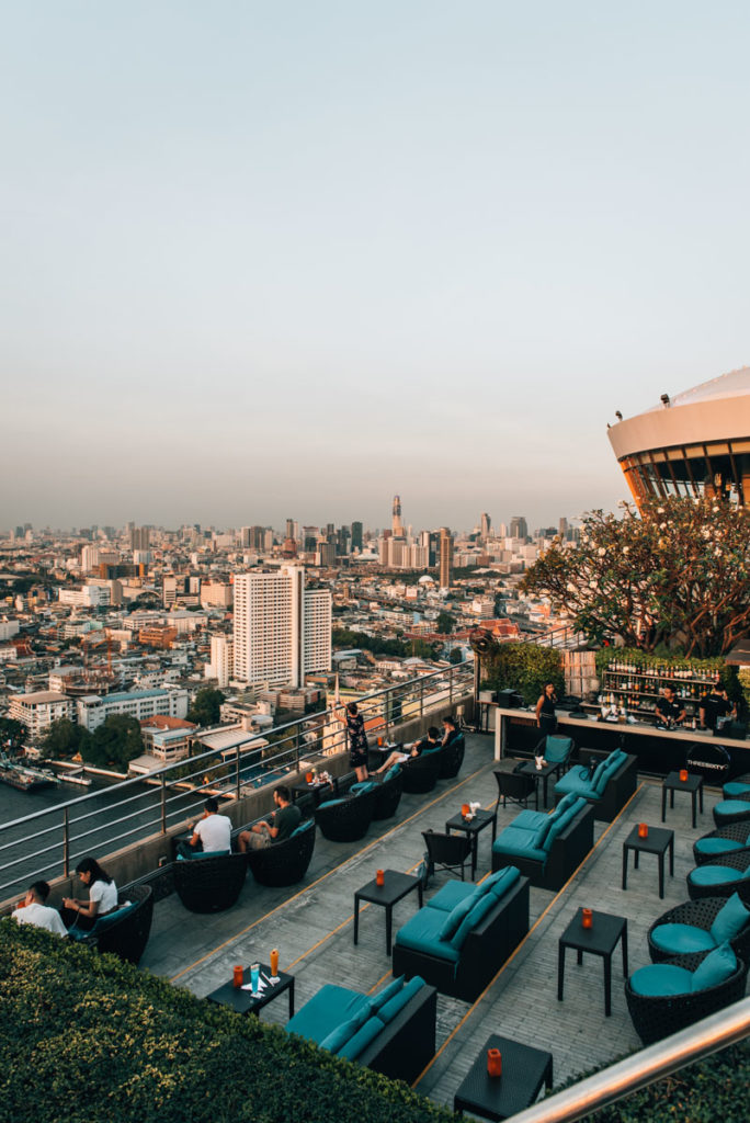 Rooftop bar Hilton Bangkok