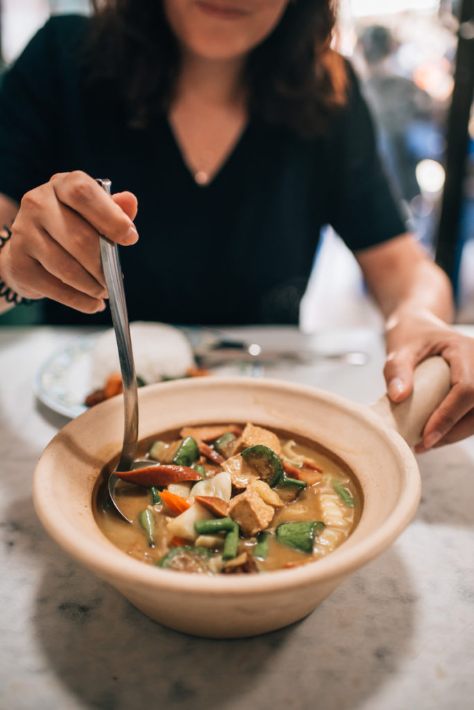 Vegetarisches Restaurant Bangkok