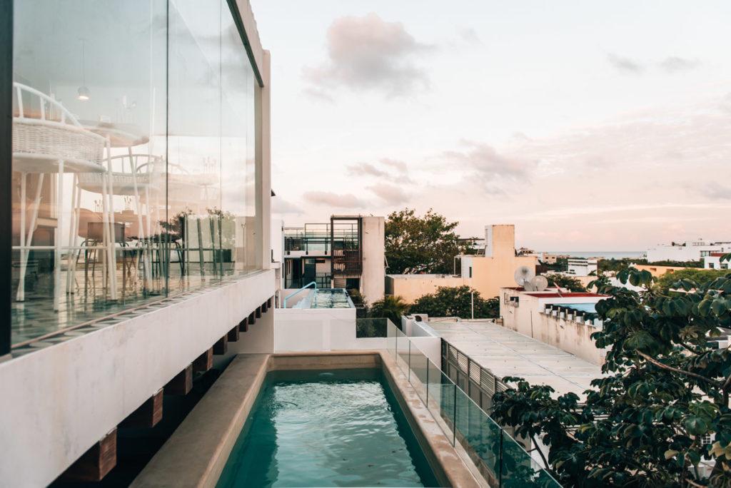 Playa del Carmen Hotel mit Pool
