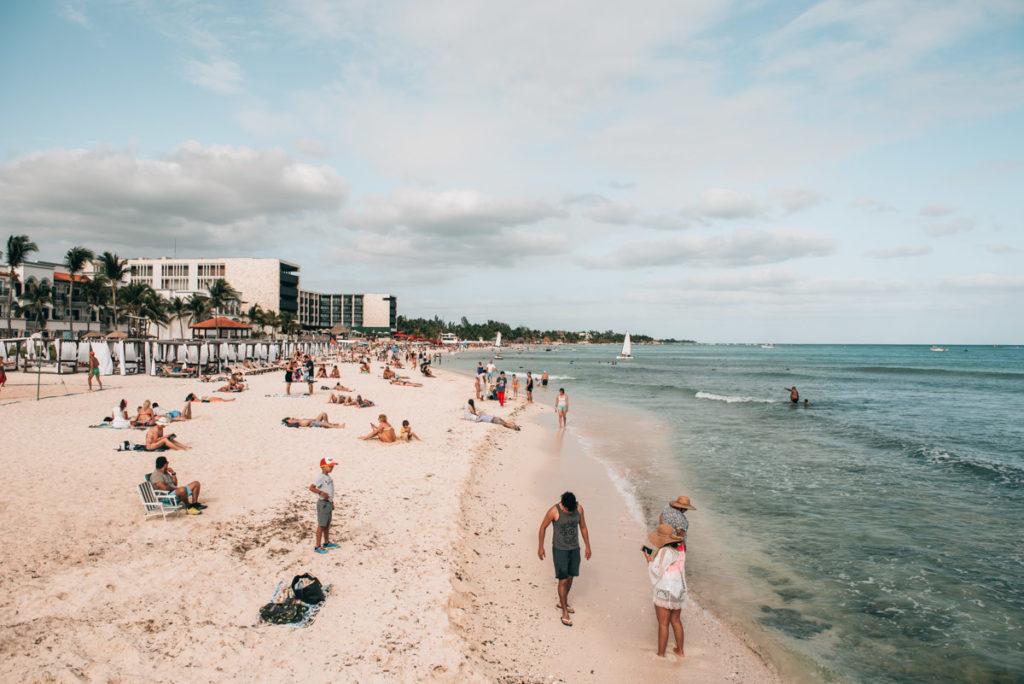 Playa del Carmen Strand