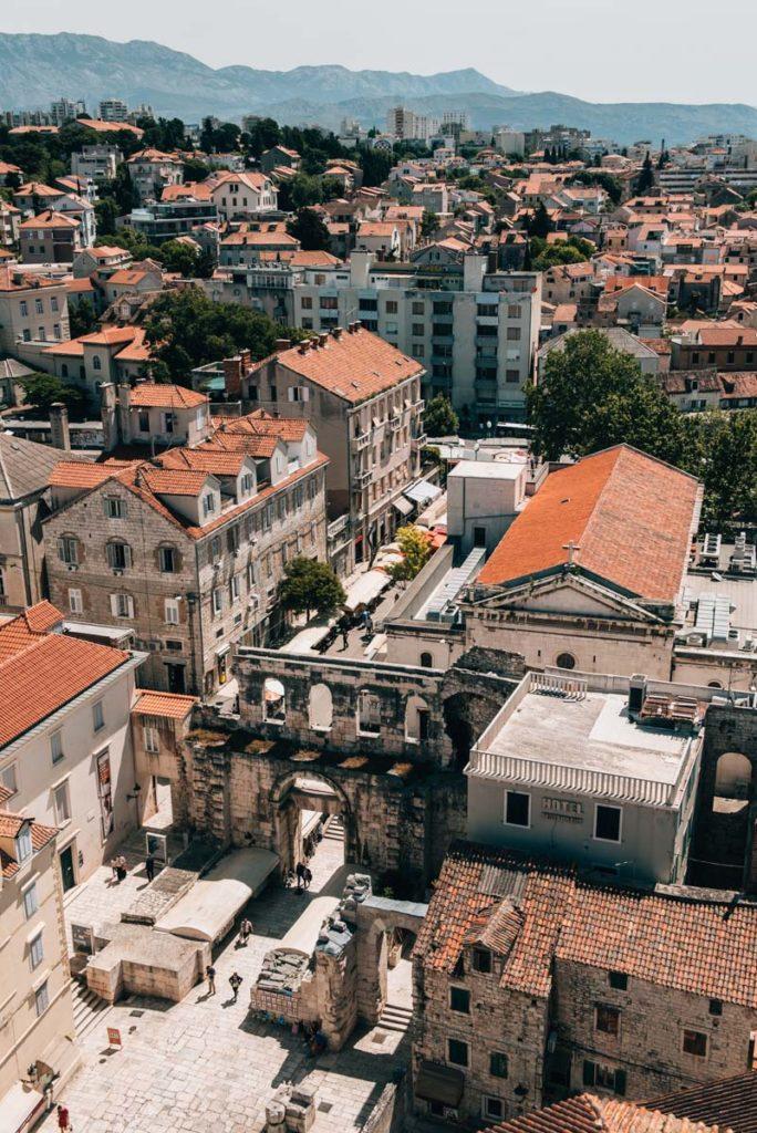Aussichtspunkt Split