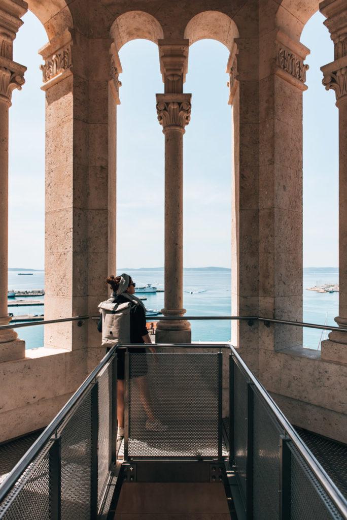 Kathedrale Split Aussicht