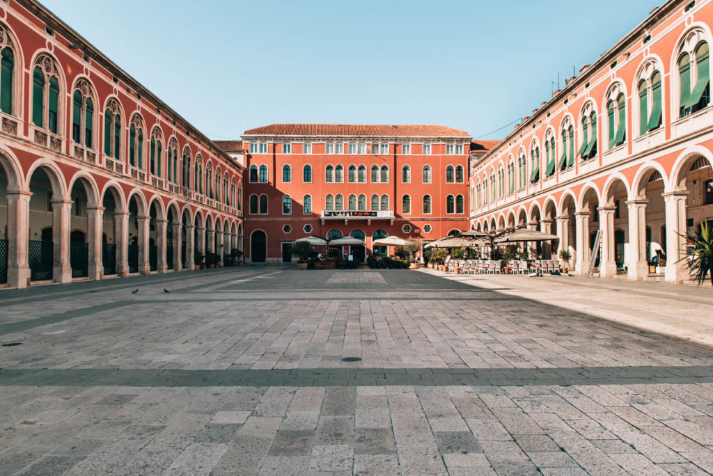 Platz der Republik Split