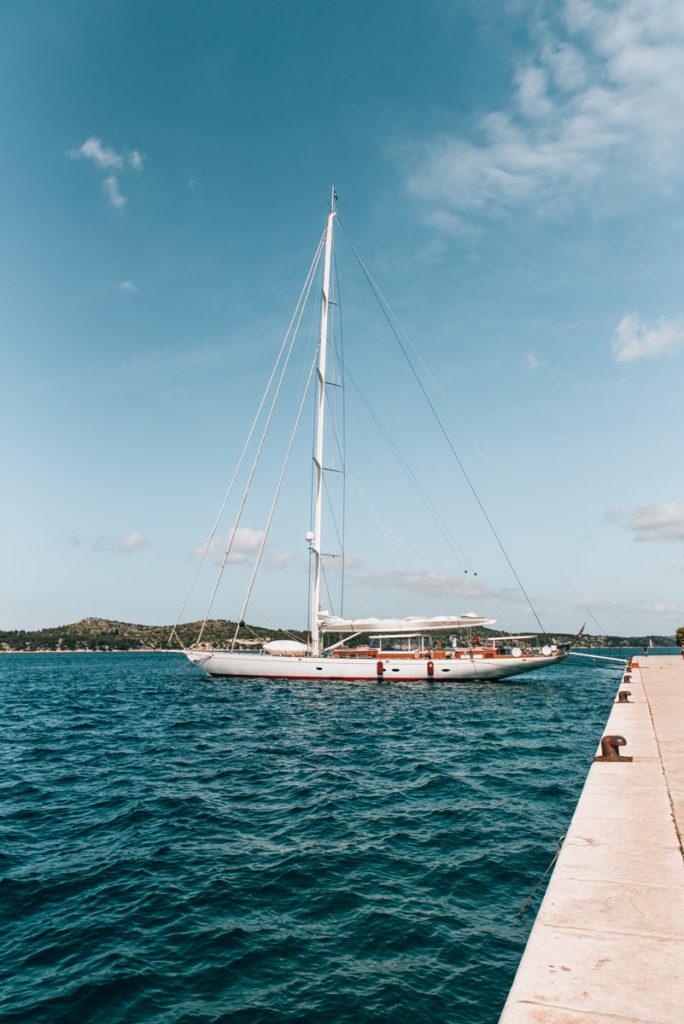 Sibenik Segelschiff