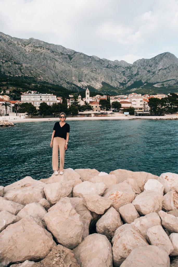 Baska Voda Dalmatien