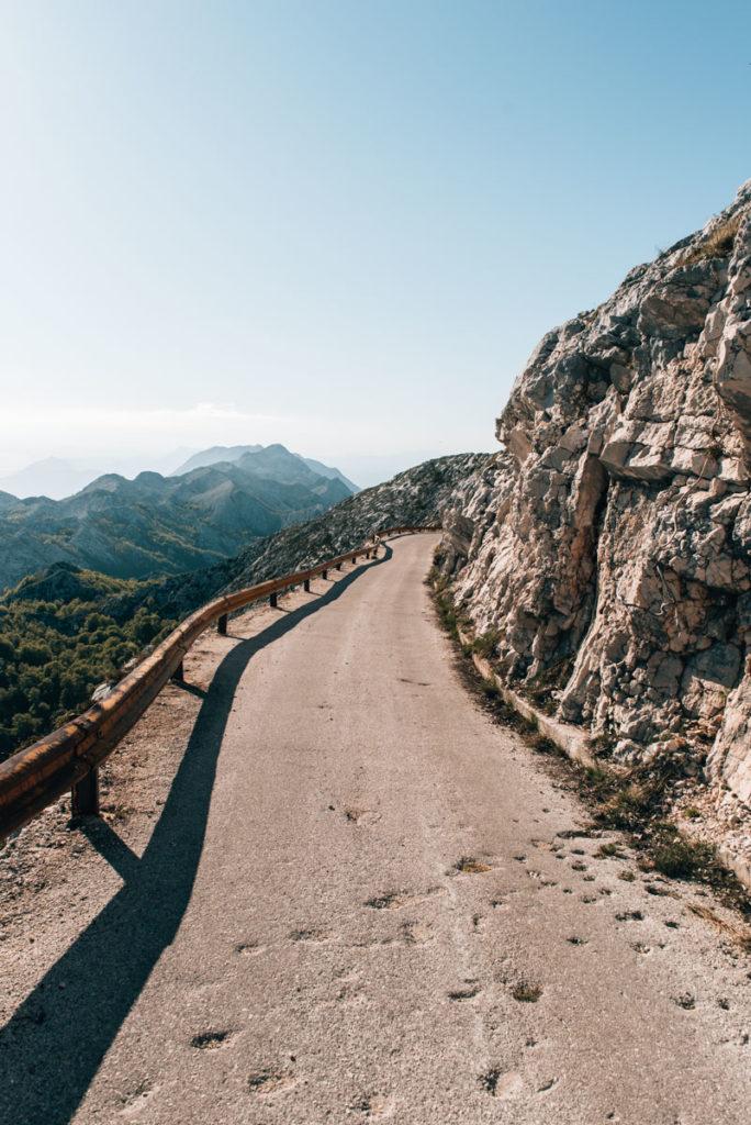 Biokovo Straße