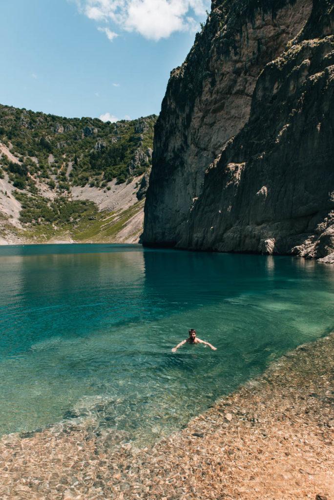 Blauer See Kroatien