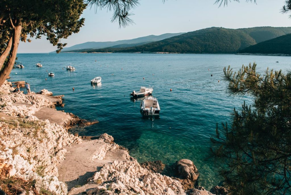 Rabac-Kroatien