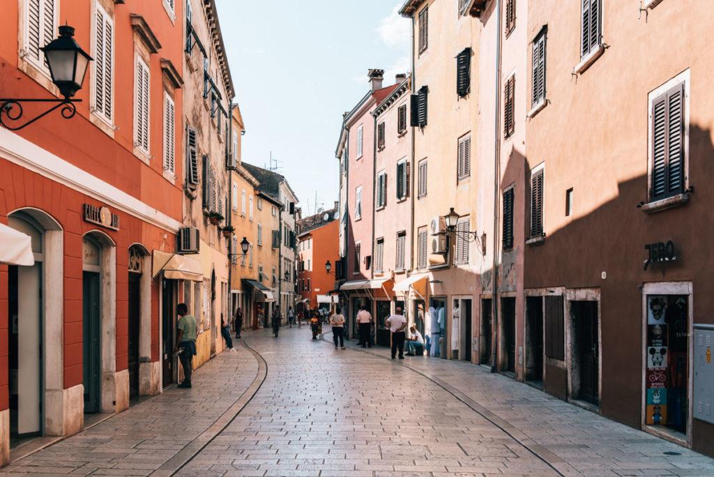 Rovinj Carera ulica