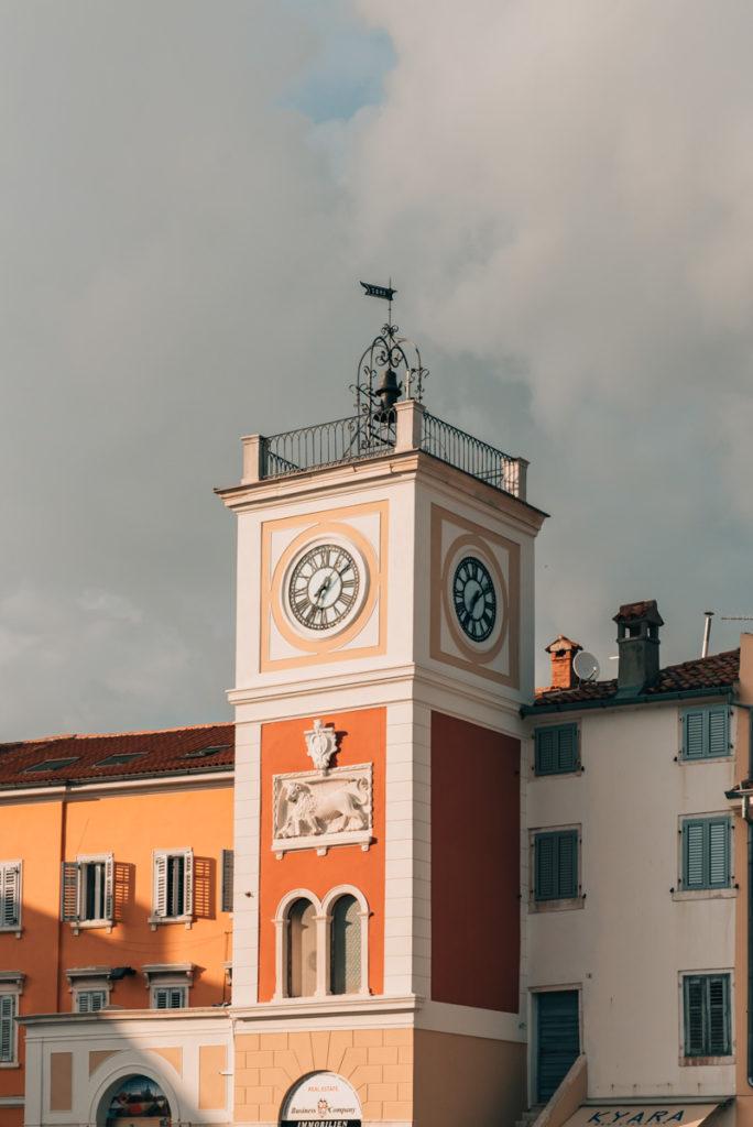 Rovinj Uhrturm