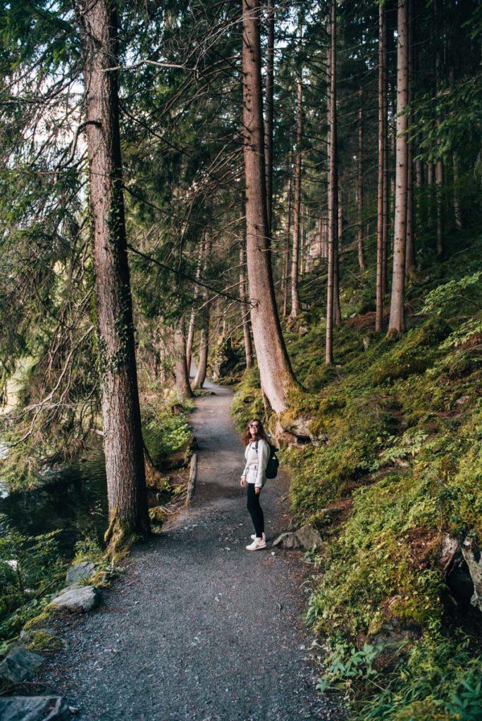 Piburger See Wanderweg
