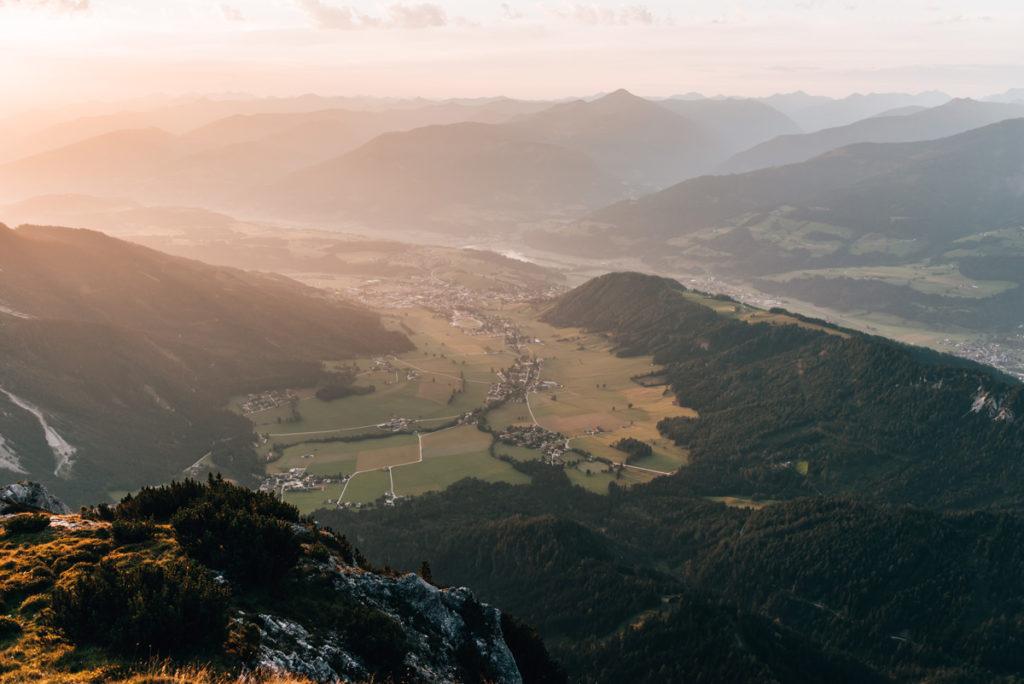 Stoderzinken Wanderung Sonnenaufgang