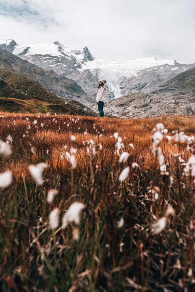 Gletscherweg Innergschlöss Herbst